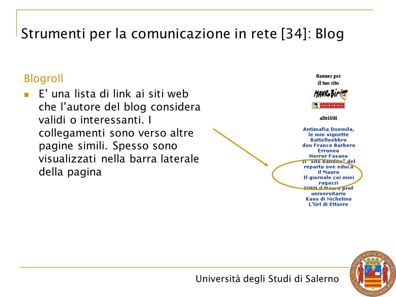 Strumenti per la comunicazione in rete [34]: Blog